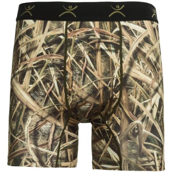 Terramar Stalker Camo Boxer Briefs - Underwear (For Men)