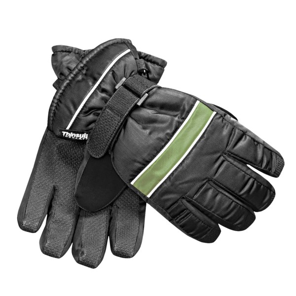 Jacob Ash Waterproof Ski Gloves - Insulated (For Kids)