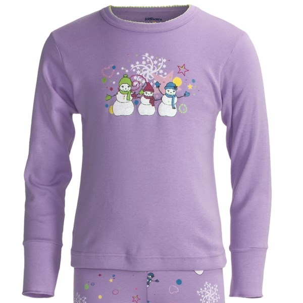 Watson?s Long Underwear Top - Long Sleeve (For Girls)