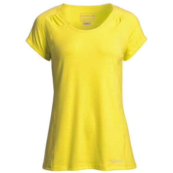 Merrell Adeeline T-Shirt - UPF 20 , Short Sleeve (For Women)
