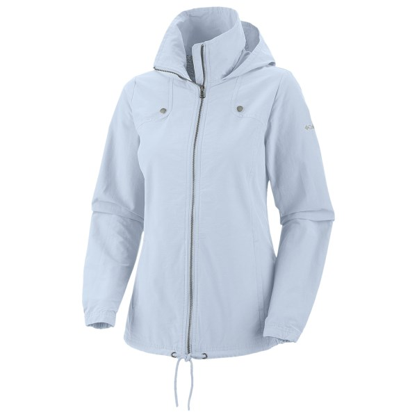 Discount clothing stores Columbia Sportswear Arch Cape II Jacket - UPF 15, Adventure Cloth (For Plus Size Women)