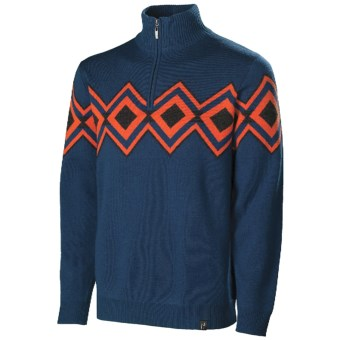 Lux-ID 191297  Neve Remy Zip Neck Sweater - Merino Wool (For Men)