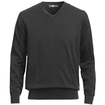 Lux-ID 191289  Chase Edward V-Neck Sweater - Pima Cotton (For Men)