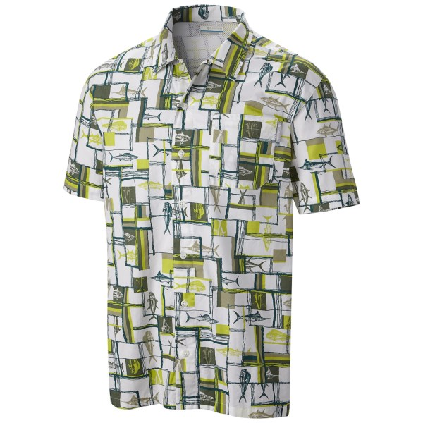 Columbia Sportswear Trollers Best Pfg Shirt - Upf 50, Short Sleeve (for Men)