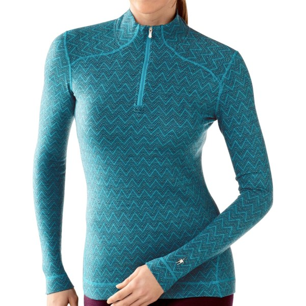 CLOSEOUTS . SmartWool's NTS Midweight Pattern base layer top delivers streamlined outdoor performance and versatility with its form-fitting merino wool knit -- great worn alone or layered. Available Colors: WINE HEATHER, ARCTIC BLUE HEATHER, SILVER GREY HEATHER, IMPERIAL HEATHER, IMPERIAL PURPLE HEATHER, HORIZON BLUE, CLEARWATER, BERRY HEATHER, POLAR PURPLE, SILVER/CHARCOAL, CAPRI HEATHER, INDIGO, LIBERTY, TAUPE HEATHER. Sizes: XS, S, M, L, XL, 2XL.