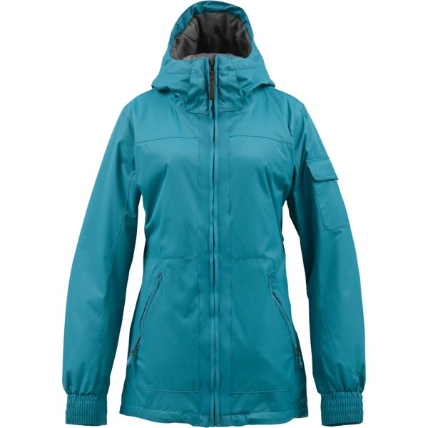CLOSEOUTS . With its tailored fit, attached hood and nylon dobby fabric, Burton's TWC Boomsticks jacket performs on the snow and looks equally at home off the slopes. Available Colors: TRUE BLACK, KEEF, MELTWATER. Sizes: XXS, XS, S, M, L, XL.