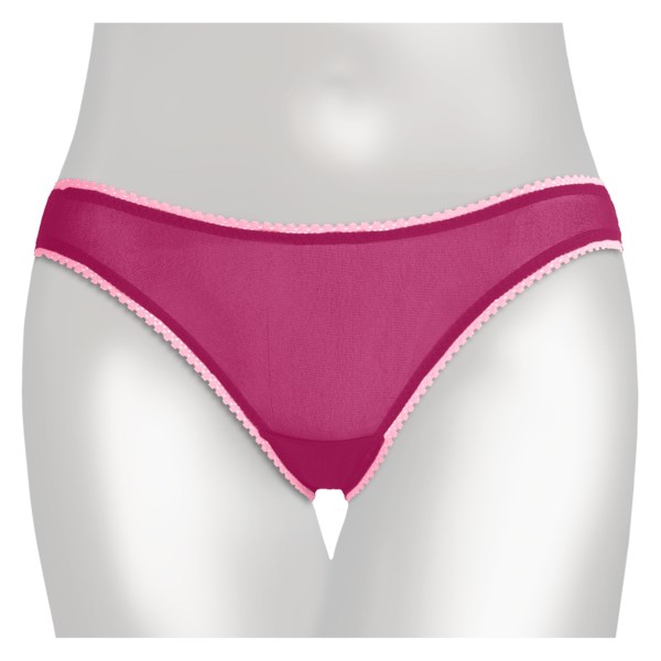 OnGossamer Mesh Hip Underwear - Low Rise, Bikini Briefs (For Women)
