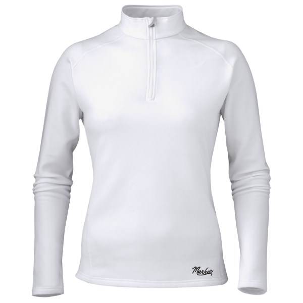 CLOSEOUTS . Marker's Active shirt features a smooth, layer-friendly exterior and warm, butter-soft interior, a perfect combination for layering in cold weather or wearing alone in less-frigid temps. Available Colors: SKY, VIOLET, BLACK, WHITE. Sizes: S, M, L, XL.