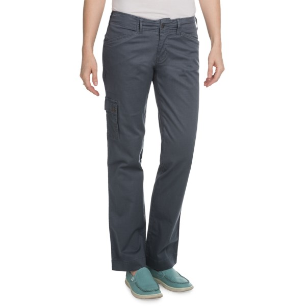 CLOSEOUTS . Go from town to trail in Aventura Clothing's Shelton cargo pants, made of durable, breathable and stretchy Bedford cord fabric with a cargo pocket to keep you prepared for wherever the day takes you. Available Colors: BLACK, CAPERS, DARK SLATE. Sizes: 2, 4, 6, 8, 10, 12, 14, 16.
