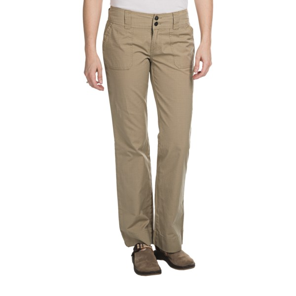 CLOSEOUTS . Made of lightweight and durable organic cotton ripstop with a comfortable wide waist and double-button closure, Aventura Clothing's Hadley pants are perfect for active days out and casual wear during transitioning seasons. Available Colors: BLACK, DUSKY GREEN, KELP, TURKISH COFFEE. Sizes: 2, 4, 6, 8, 10, 12, 14, 16.