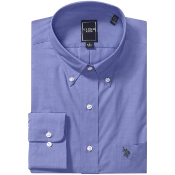 Lux-ID 202110  U.S. Polo Assn. Easy-Care Shirt - Button-Down Collar, Long Sleeve (For Men)