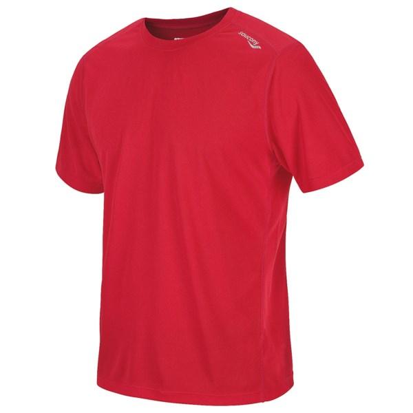 Saucony HydraMAX Shirt - UPF 40-50 , Short Sleeve (For Men)
