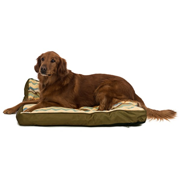 CLOSEOUTS . The Waverly Fiesta Panama dog bed provides a comfortable, easy-to-clean sleeping surface for your beloved companion. It has a durable, machine-washable cover and a non-skid bottom. Available Colors: ADOBE, GEM, PEBBLE.