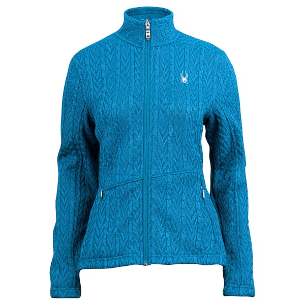 Spyder Full Zip Cable Knit