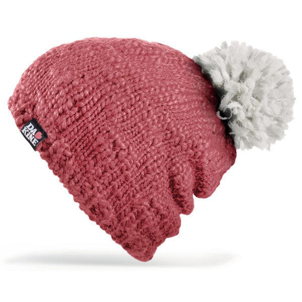 CLOSEOUTS . Get your winter retro style on with DaKine's Alex hat, featuring a vibrant, knit exterior, plush fleece lining and oversized pompom topper you won't be able to resist. Available Colors: COBALT, CITRON, PEACOCK, PLUM, CHARCOAL, CORAL, OCEAN DEPTHS, TURQUOISE. Sizes: O/S.