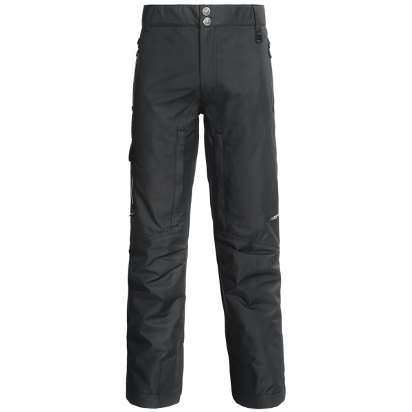 CLOSEOUTS . Relish the joy of fresh powder and untouched terrain in Boulder Gearand#39;s Valiant ski pants. Protection from the elements is provided by the lightweight Polartecand#174; NeoShelland#174; waterproof fabric and synthetic insulation. Available Colors: BLACK, GRAY SHADOW/BLACK, LIME CITRON/GRAY SHADOW, ORANGE FLAME/GRAY SHADOW. Sizes: S, M, L, XL, 2XL, XS, 3XL.