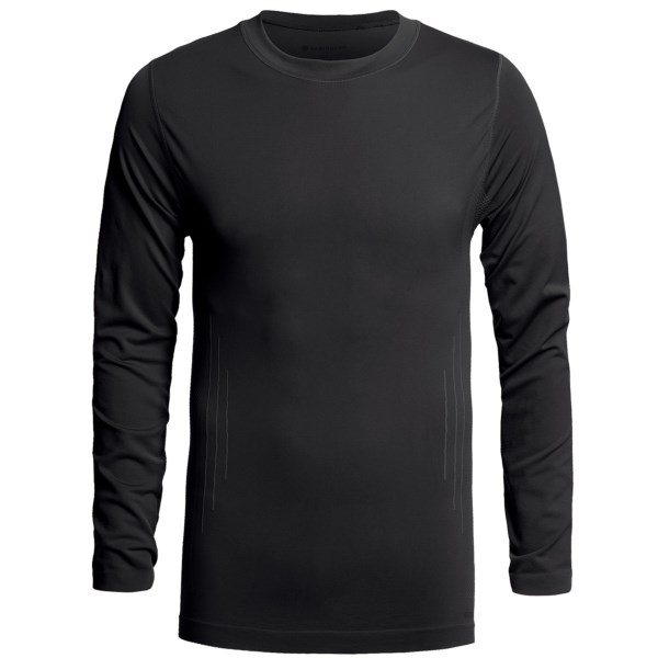 CLOSEOUTS . Stay warm and dry on your next outdoor adventure with Redington's RediLayer crew neck base layer top. VaporStream fabric wicks moisture quickly and boasts form-fitting soft compression to support muscles and reduce fatigue. Available Colors: BLACK, RUST, SEAL. Sizes: M, L, XL, 2XL.