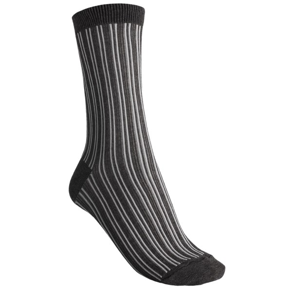 b.ella Candie Pinstripe Crew Socks (For Women)