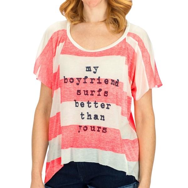 Billabong Big Crush T-Shirt - Short Sleeve (For Women)
