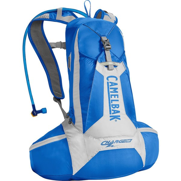 CLOSEOUTS . CamelBak's Charge LR hydration pack puts two liters of water low on your hips, so this ultralight pack with a highly breathable harness stays stable and won't weigh you down on steep climbs. Available Colors: PEAT, SKYDIVER, SKYDIVER/DOVE.