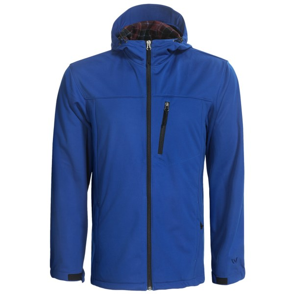 White Sierra South Shore Hooded Softshell