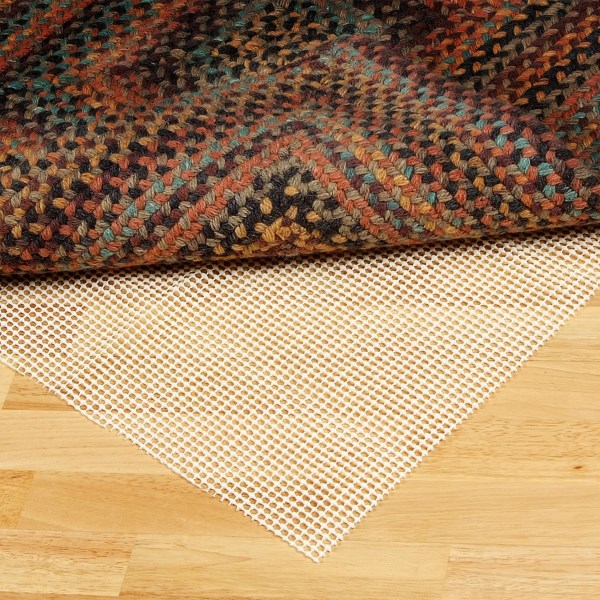 CLOSEOUTS . A non-slip rug pad that can be cut to fit a variety of rugs or mats, Colonial Millsand#39; Eco-Stay rug pad offers an easy way to keep rugs in place on hard floors. Available Colors: SEE PHOTO.