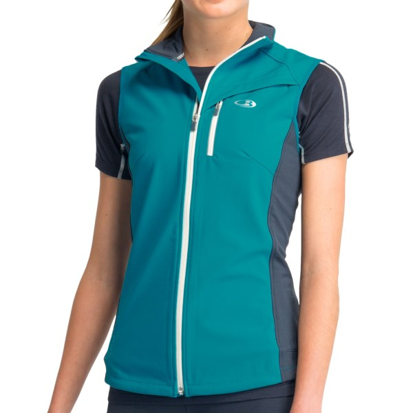 Icebreaker Gust Vest UPF 50+, Merino Wool (For Women)
