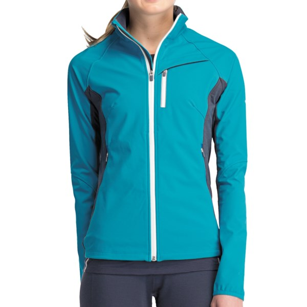 Icebreaker Gust Jacket UPF 50+, Merino Wool Lining (For Women)