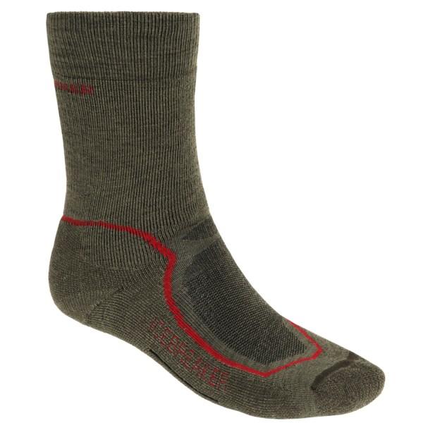 Icebreaker Hike   Mid Crew Socks - Merino Wool (For Men)
