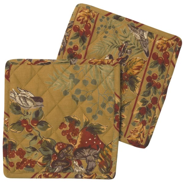 April Cornell Pot Holders - Set of 2