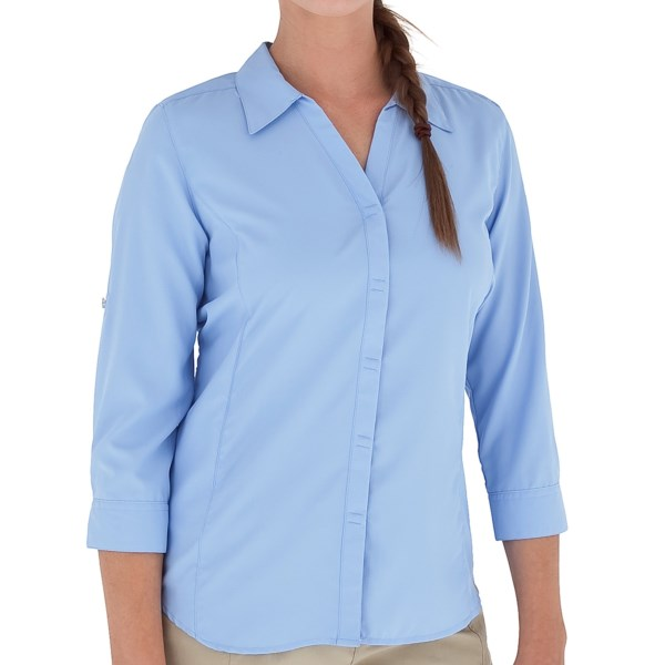 Royal Robbins Light Expedition Shirt - UPF 50 , 3/4 Roll-Up Sleeve (For Women)