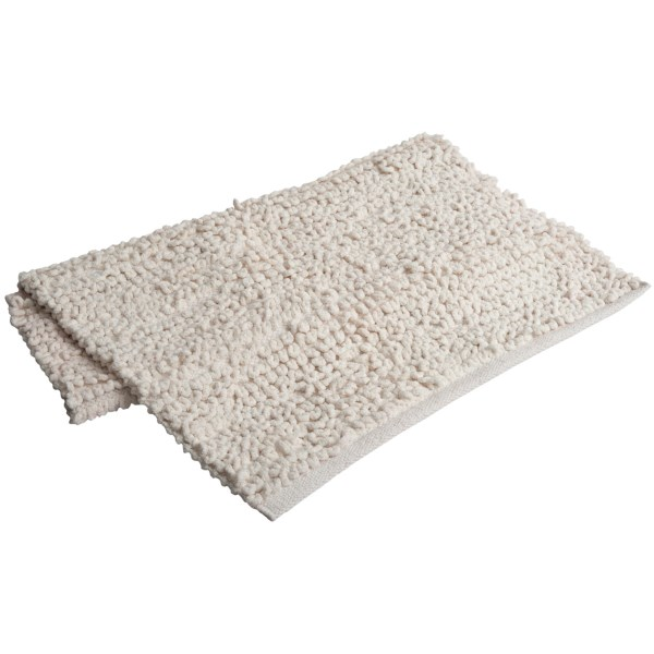 "Espalma Popcorn Loop Bathroom Rug - Cotton, 21x34"""