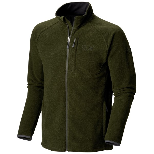 CLOSEOUTS . With its stylish textured exterior, Mountain Hardwearand#39;s Toasty Tweed fleece jacket is a distinctive top layer that can also be worn as a midweight layer on cold days. Available Colors: DUFFEL, COLLEGIATE NAVY, MORRELL, BLACK, GREENSCAPE, DARK ADOBE, VERT, GRAPHITE. Sizes: S, M, L, XL, 2XL.