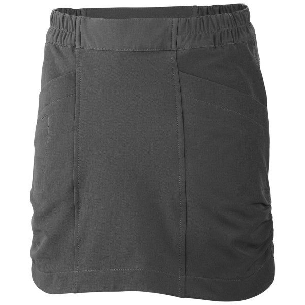 CLOSEOUTS . With UPF 50 and cute gathered details, Columbia Sportswearand#39;s Mega Trail skort offers a great combination of girlish style and functionality to keep up with her active life. Available Colors: GRILL. Sizes: 2T, 3T, 4T.