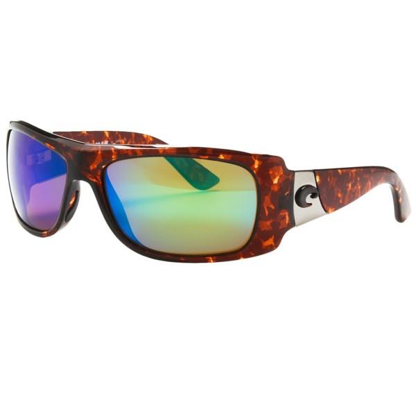 88374a96fa68c Costa Del Mar Bonita Sunglasses Polarized 400G LightWAVE(R) Glass Mirror  Lenses TORTOISE BLUE MIRROR 400G ( )