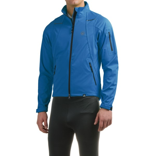 CLOSEOUTS . You may not be riding to the top of the world, but why not look the part during training rides with the Canariand#39;s Everest cycling jacket? The stretch fabric is wind and water resistant, and a drawcord waist helps seal out cold air. Available Colors: KILLER YELLOW, BREAKAWAY BLUE, LAVA. Sizes: S, M, L, XL, 2XL.