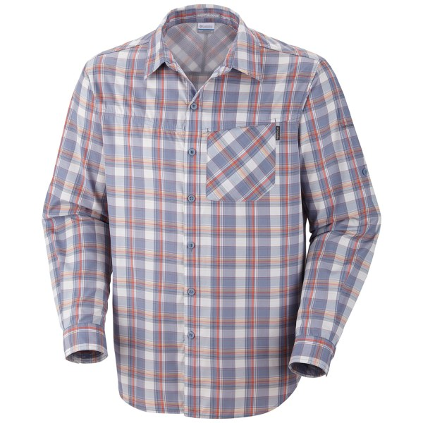 Columbia Sportswear Insect Blocker(R) Plaid Shirt - UPF 30, Long Sleeve (For Men)