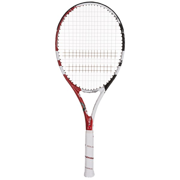 CLOSEOUTS . Babolatand#39;s E-Sense Comp French Open tennis racquet offers excellent maneuverability for the developing player, with graphite construction for a lightweight feel and Woofer technology for added power. Available Colors: CLAY. Sizes: 4_3/8, 4_1/2, 4_5/8, 4_1/4.
