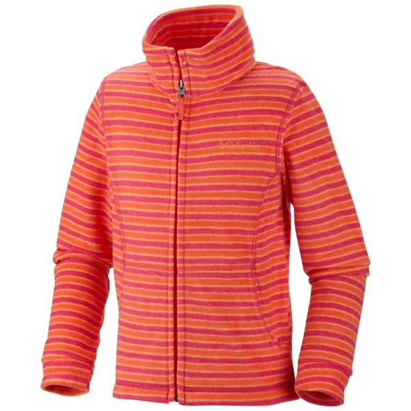 Columbia Sportswear Explorers Delight Printed Fleece Jacket (for Toddler Girls)