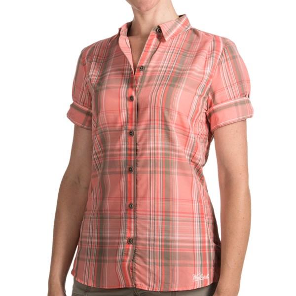 Woolrich Bloom Run Plaid Shirt - UPF 20, Short Sleeve (For Women)