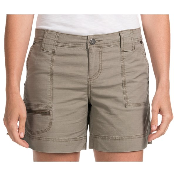 On sale. Woolrich Canoe Creek Hiking Shorts - UPF 50+, Stretch Cotton (For Women)