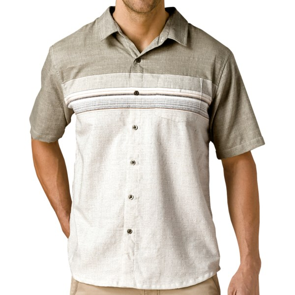 prAna Camino Shirt - Short Sleeve (For Men)