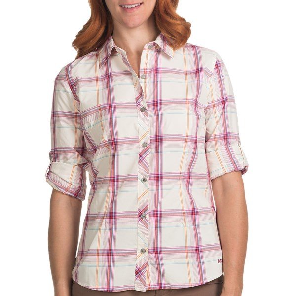 Marmot Supplex(R) Nylon Hailey Shirt - UPF 35, Roll-Up Long Sleeve (For Women)