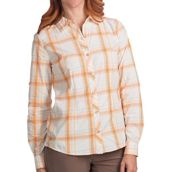 Marmot Supplex(R) Nylon Hailey Shirt - UPF 35, Roll-Up Long Sleeve (For Women)