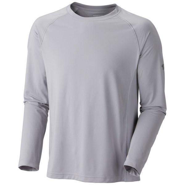 Mountain Hardwear Justo Trek T Shirt   UPF 50  Long Sleeve (For Men)   411 IMPULSE BLUE (L )
