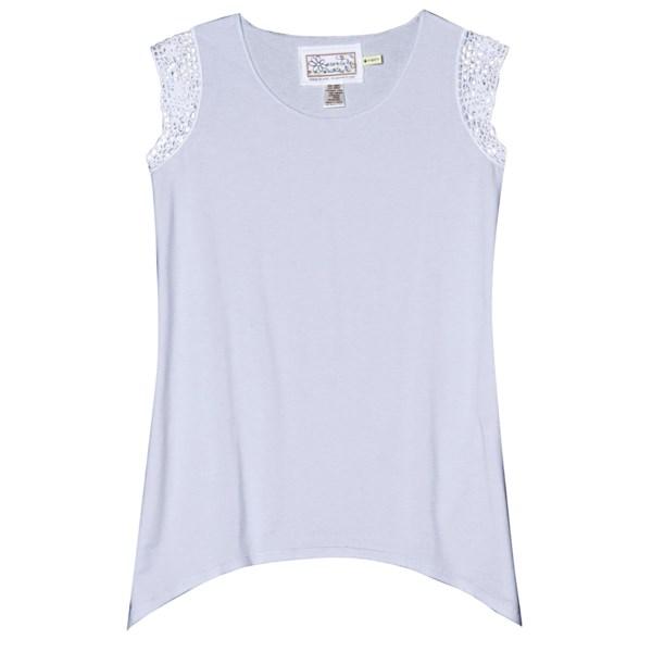 Discount clothing stores Aventura Clothing Kierra Shirt - Organic Cotton-Modal, Sleeveless (For Women)