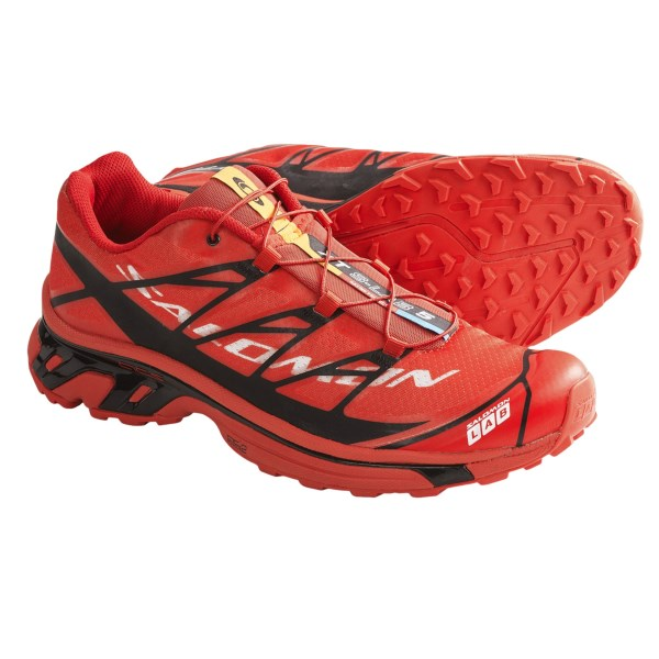 CLOSEOUTS . Lightweight, super-agile and engineered for runners, Salomonand#39;s XT S-Lab 5 shoes present a stripped-down chassis and welded SensiFit technology. The supportive, foot-hugging design means you can be quicker on your feet with improved grip. Available Colors: RED/BLACK/WHITE. Sizes: 4, 4.5, 5, 5.5, 6, 6.5, 7, 7.5, 8, 8.5, 9, 9.5, 10, 10.5, 11, 11.5, 12.
