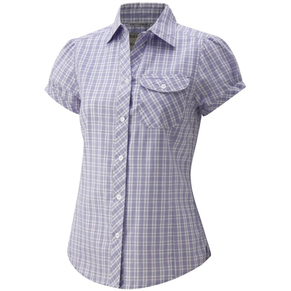 Craghoppers Fiorella Check Shirt - UPF 20 , Short Sleeve (For Women)