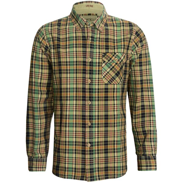 Gramicci Jalama Paya Madras Shirt - Long Sleeve (For Men)