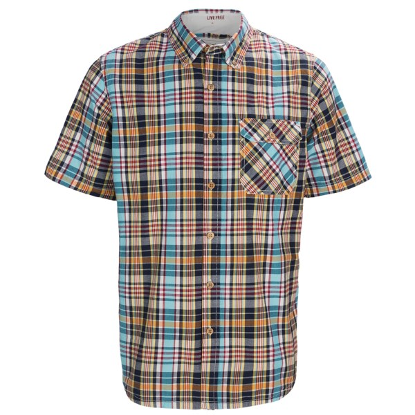 Gramicci Jalama Paya Madras Shirt - Short Sleeve (For Men)